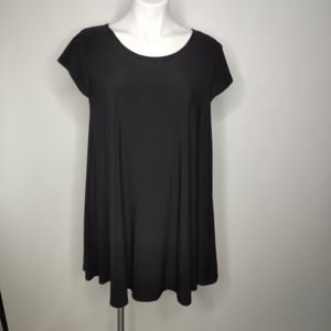 Vibe Sportswear Black Short Sleeve Shirt XL